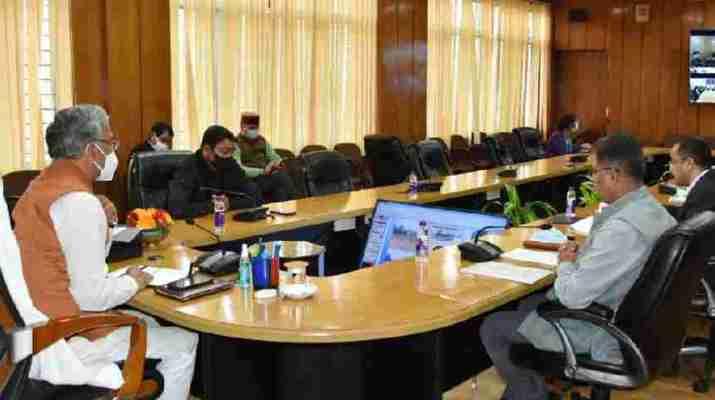 मुख्यमंत्री ने की जल जीवन मिशन की समीक्षा, विभाग को दिये अर्बन जल जीवन मिशन की कार्ययोजना तैयार करने के निर्देश 1