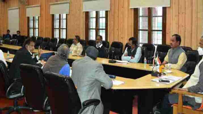 मुख्यमंत्री की अध्यक्षता में आयोजित हुई उत्तराखण्ड कैम्पा की बैठक, वनाग्नि रोकने के लिये हो समेकित प्रयास - मुख्यमंत्री 1