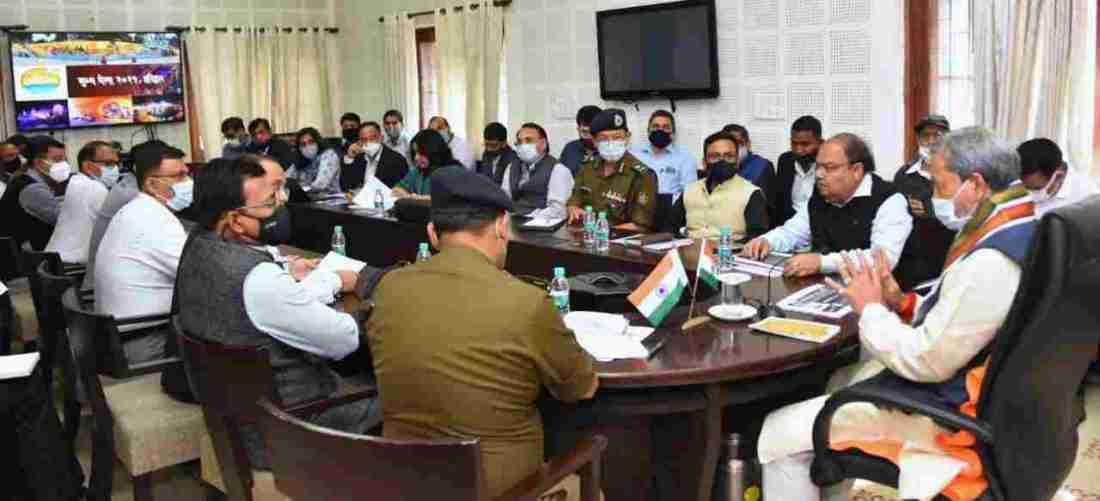 मुख्यमंत्री ने की कुम्भ मेले की व्यवस्थाओं की समीक्षा, 12 वर्षों के अंतराल में आयोजित होने वाले कुम्भ मेले का दिव्य एवं भव्य रूप से किया जाय आयोजन-मुख्यमंत्री 2