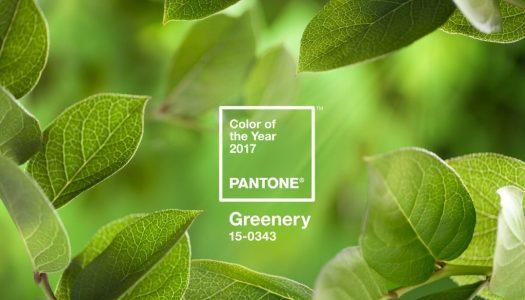 Greenery, el color del año 2017