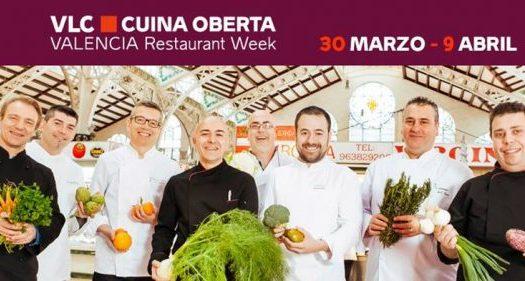 Valencia Cuina Oberta vuelve del 30 de marzo al 9 de abril