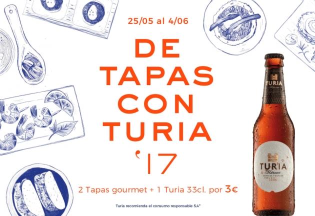 De Tapas con Turia