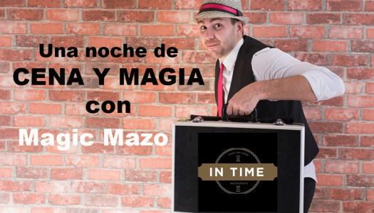 Noche de cena y magia en IN TIME