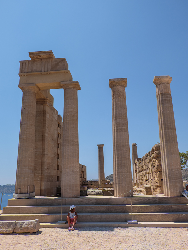 The acropolis of Lindos | Hello Victoria