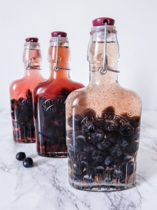Making our own sloe gin | Hello Victoria