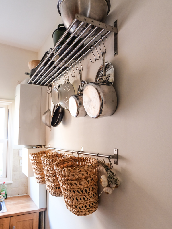 Increasing storage in a tiny kitchen | Hello Victoria