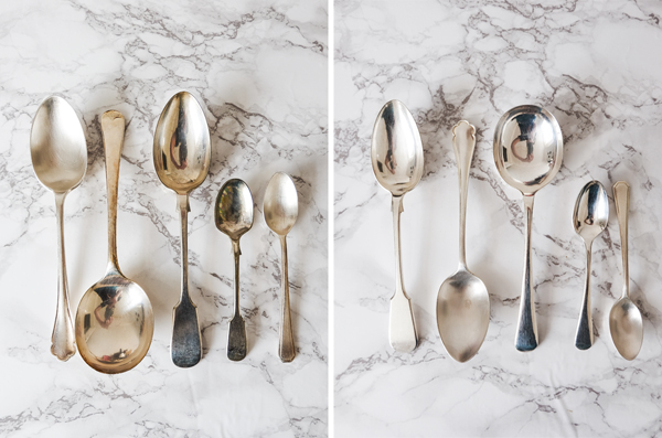 Cleaning silverware with baking soda | Hello Victoria