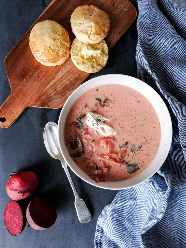 Summer borscht recipe | Hello Victoria