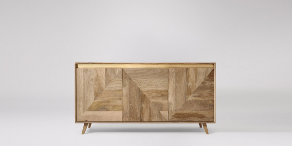 Wood inlay furniture inspiration from Swoon Editions | Hello Victoria