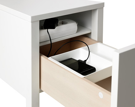 NORDLI bedside table | Hello Victoria