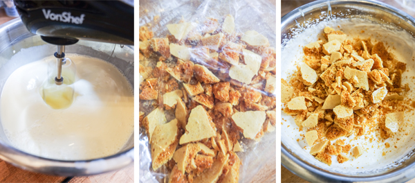 No-churn honeycomb ice cream | Hello Victoria
