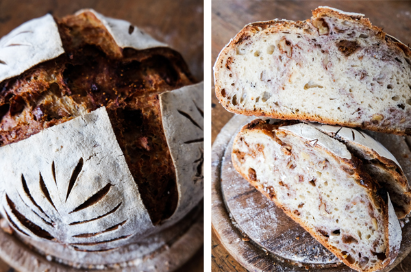 Fig and walnut sourdough recipe | Hello Victoria