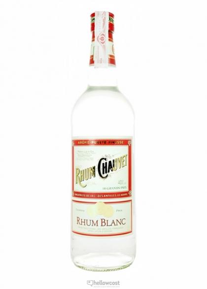 chauvet rhum blanc antilles 40 1 litre