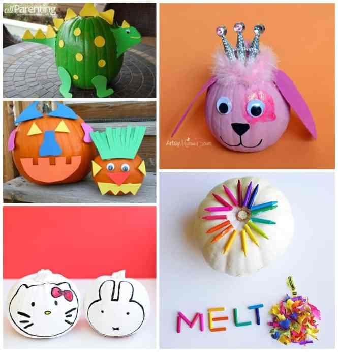 Storybook Character Pumpkin Ideas