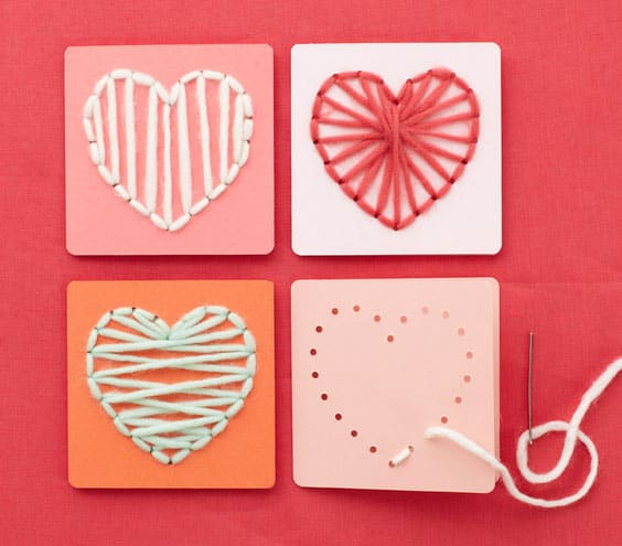 12 SIMPLE AND SWEET VALENTINES DAY CRAFTS
