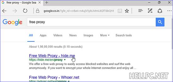 How To Access Blocked Websites On Your PC Using Proxy – HELLPC NET