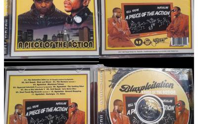 "Hell Razah & Ayatollah ""Blaxploitation"" album CDs available!"