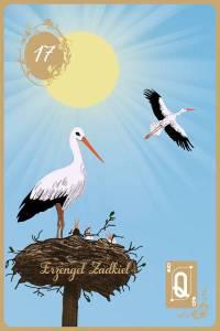 Lenormandkarten der goldenen Zeit die Störche Hellseher und Engelmedium Udo Golfmann
