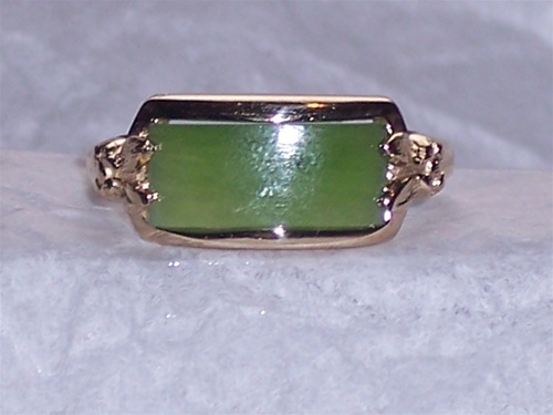 Womens Jade Ring