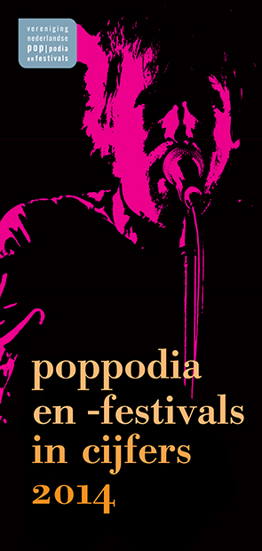 helma_timmermans_graphic_design VNPF cover Poppodia en festivals in cijfers 2014