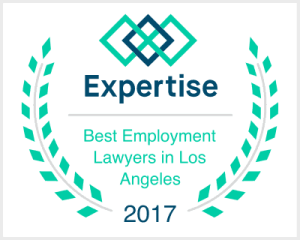 Best Employment Lawyers Los Angeles Badge.