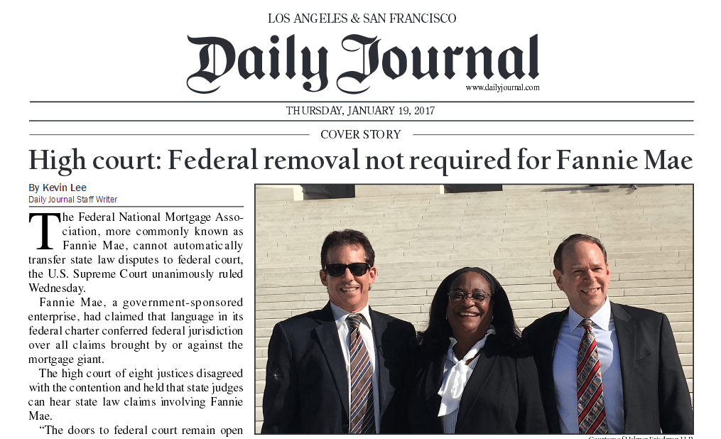 Daily Journal High Court Ruling Article.