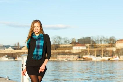 Commercial shoot Cashmere House Model: Alina Bila
