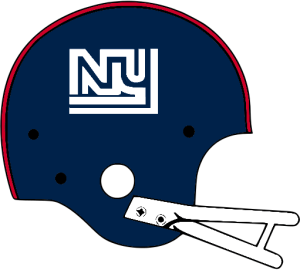 New York Giants Helmet 1975.