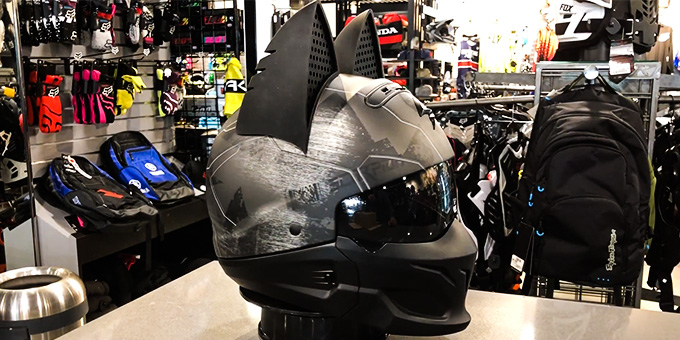 Motorcycle Helmet with Cat Ears Review