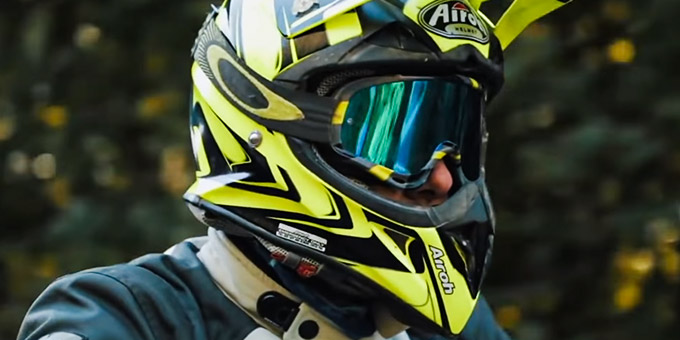 Full Face Helmet with Goggles