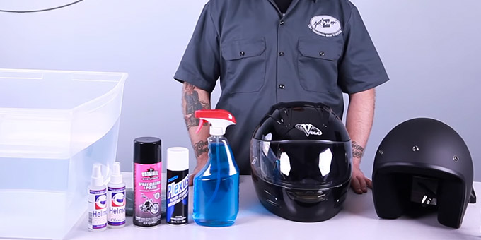 Helmet Washing Materials