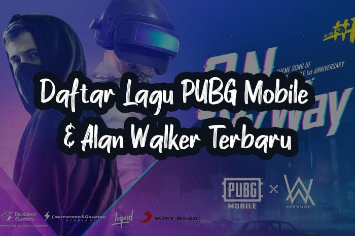 Daftar lagu pubg mobile