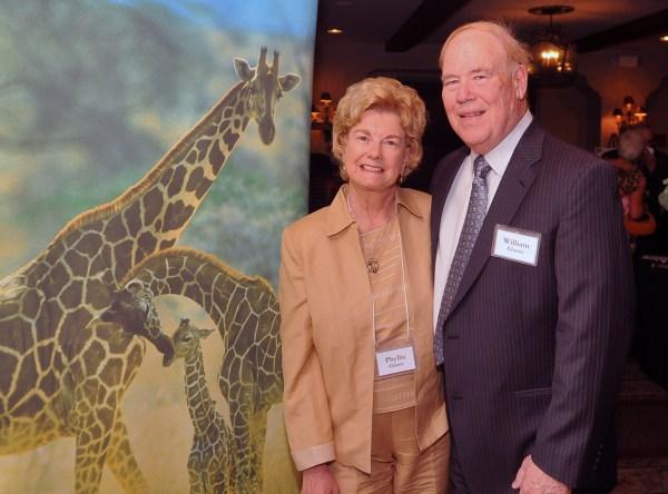 Phyllis & Bill Glantz, an original H.E.L.P. Board member.