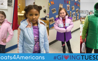 Giving Tuesday –  #Coats4Americans