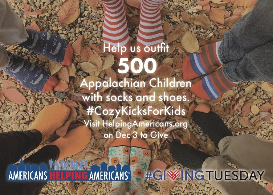 Giving Tuesday for Appalachian children