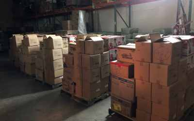 Shipping Pallets of Hope to our Partners