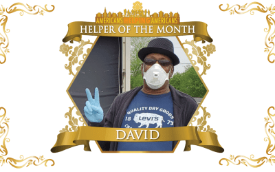 Congratulations to David Brown – Helper of the Month for July!