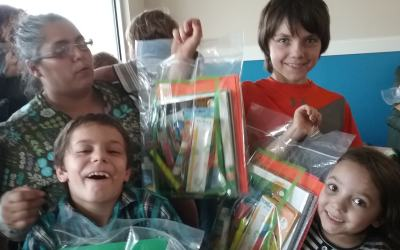 These supplies really make a world of difference to these children