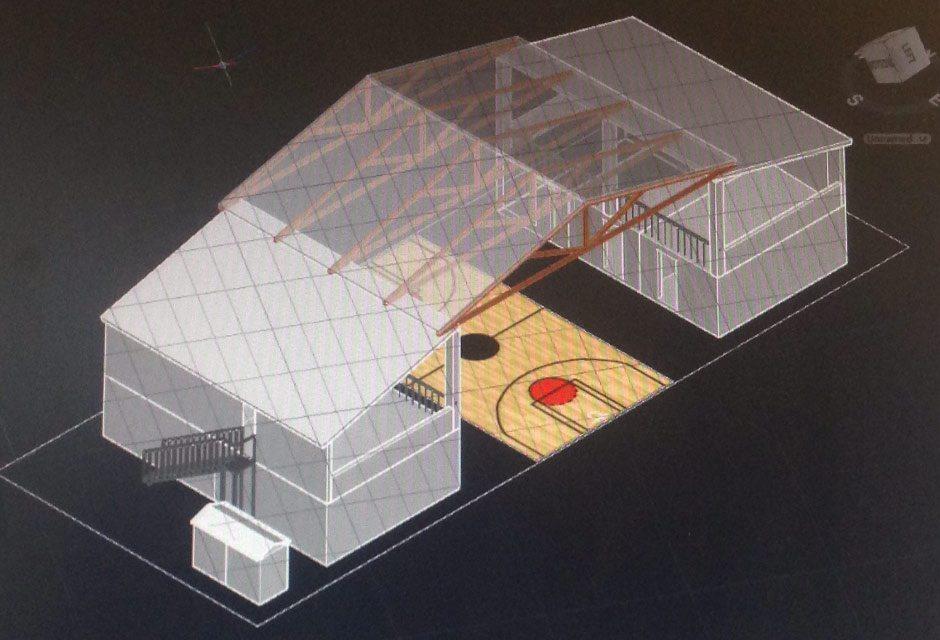 Helping Haiti Community Centre 3D Rendering