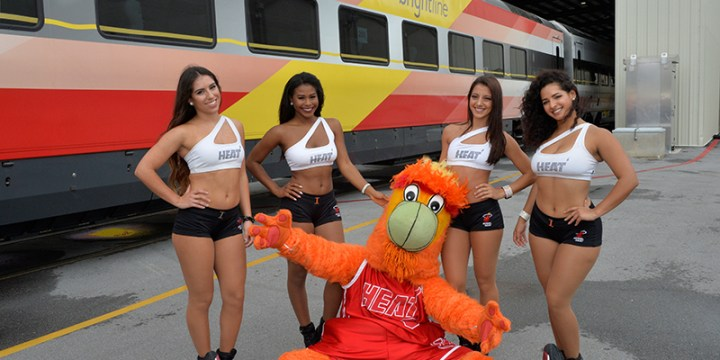 Fifth Trainset Delivered As Brightline Named Official Transportation Partner Of Miami Heat