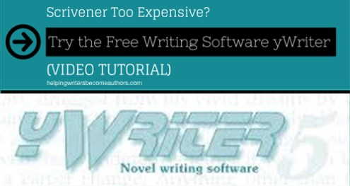 Scrivener Too Expensive? Try the Free Writing Software yWriter (Video Tutorial)