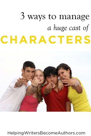 Help Readers Keep Your Characters Straight