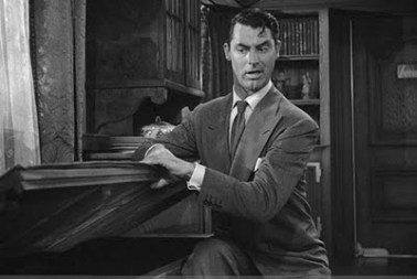 Arsenic and Old Lace Cary Grant Window Seat