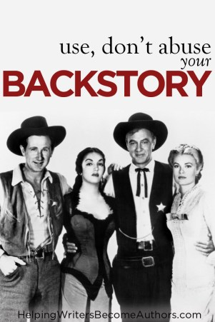 Is Backstory Sinking Your Book?