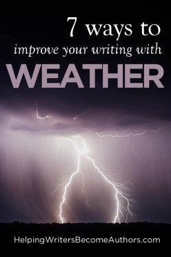 7 ways to improve your writing with weather