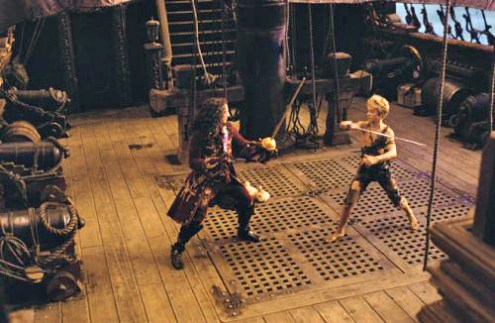 Peter Pan 2003 Jeremy Sumpter Jasaon Isaacs Swordfight