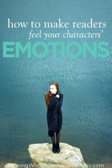 how to make readers feel character emotion