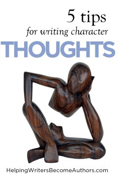 5 tips for writing character thoughts