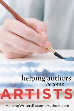 helping authors become artists pinterst