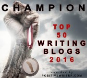 Positive Writer Top 50 Writing Blogs 2016